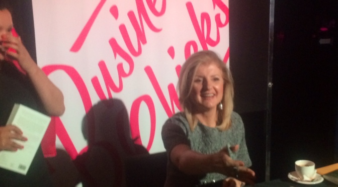 Learning to Thrive! with Arianna Huffington