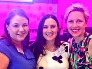 With the bodacious Bec Bodman and awesome Ali Hill