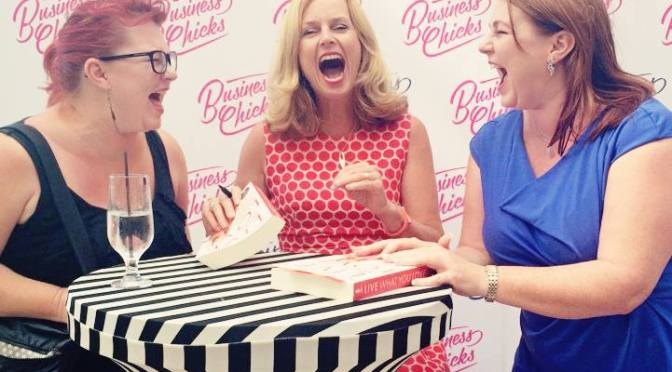 A lunch with Naomi Simson