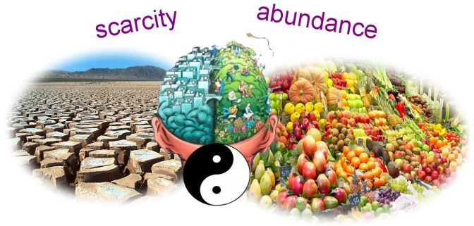 Come from a place of Abundance