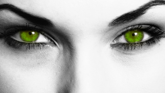 A Touch of the Green Eyed Monster